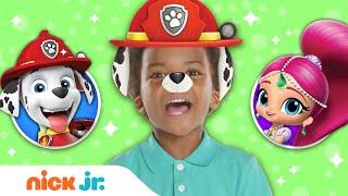 Download Junior Dress Up Party! ft. PAW Patrol + Shimmer & Shine 🌟 Ep. 6   Nick Jr. Video