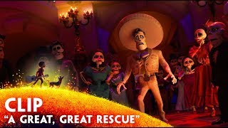 Download 'A Great, Great Rescue″ Clip - Disney/Pixar's Coco Video