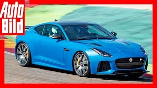 Download Jaguar F-Type SVR 2016- Fahrbericht/ Review/ Test/ Sound Video