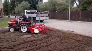Download Yanmar Ke 3D traktorek ogrodniczy z glebogryzarką. traktorki-japonskie.waw.pl Video