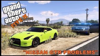 Download GTA 5 ROLEPLAY - NISSAN GTR TEST DRIVING PROBLEMS - EP. 328 - CIV Video