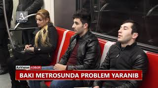 Download BAKI METROSUNDA PROBLEM YARANIB Video