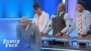 Download Tre... NO WAY! | Family Feud Video
