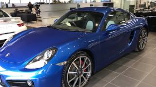 Download Collecting my new Porsche Cayman S Video