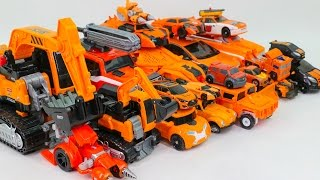 Download Orange Color Transformers RID Movie Carbot Tobot Athlon 23 Vehicle Robot Car Toys Video