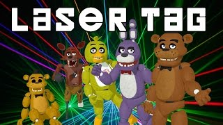Download Five Nights at Freddy's | Laser Tag Minigame | Us VS Them Video