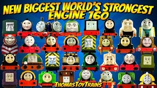 Download Thomas and Friends 160 New Biggest World's Strongest Engine Trackmaster Tomy ThomasToyTrains Video