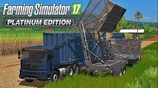 Download Caminhão Canavieiro Volvo FMX 500 | Farming Simulator 17 Platinum Edition Mods Video