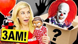 Download Don't Open A Mystery Valentine's Day Box at 3AM! (Surprise Reaction) Video