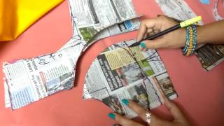 Download Double katori blouse marking and cutting Video