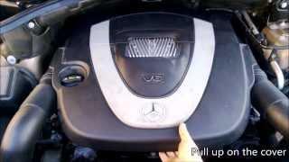 Download DIY: Mercedes Benz 3.5L V6 air filter replacement (10min job) Video