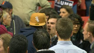 Download RAW VIDEO: Violence erupts at Donald Trump rally in Chicago Video