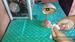 Download Lampu belajar dari batok kelapa tutorialnya Video