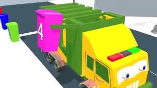 Download Learn numbers with garbage truck | English kids learning | Nursery Rhymes |Kids Song Video