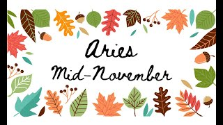 """Download ARIES """"They're here to show you different"""" MID NOVEMBER Tarot Reading Video"""