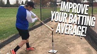 Download The Top 3 Baseball Hitting Drills to Improve Batting Average! Video