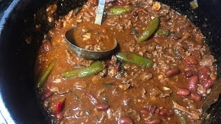 Download Cast Iron Chili With Beans Video
