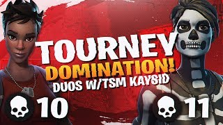 Download TSM DOMINATES THE DUO TOURNAMENT! Ft. TSM Kaysid (Fortnite BR Full Match) Video