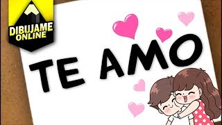 Download como transformar te amo en un dibujo Video