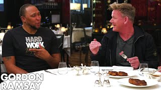 Download Gordon Ramsay Judges Steaks Cooked By NBA Legends Shawn Marion & Caron Butler! | Raising the Steaks Video