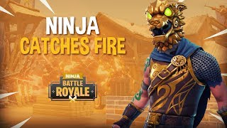 Download Ninja Catches Fire!?! - Fortnite Battle Royale Gameplay - Ninja Video