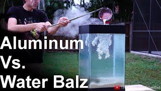 Download Molten Aluminum Vs 'Spitballs' - SO COOL!! (water balz) Video