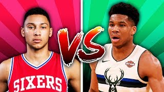 Download Would You Rather Have Ben Simmons Or Giannis Antetokounmpo? Video