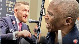 Download MAYWEATHER SR EXPLODES ON MCGREGOR! SHOWS SPEED & CONOR LAUGHS AT HIM! Video