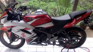 Download Pasang scotlite kawasaki Ninja 150RR SE 2014 30th UNIVERSARY Video