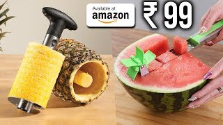 Download TOP 10 USEFUL KITCHEN GADGETS You Can Buy on Amazon 2019 | Gadgets Under Rs100, Rs200, Rs500, Rs1000 Video