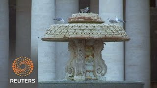 Download Vatican turns off fountains as Rome deals with drought Video