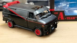Download The A Team 1983 GMC Vandura In 1/18 Scale By Greenlight, This One's Huge! #Diecast Video