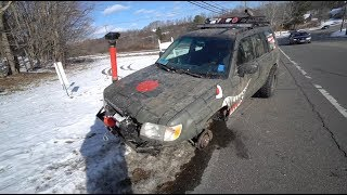 Download WHEEL FLIES OFF LIFTED FORESTER WHILE DRIVING!!! Video