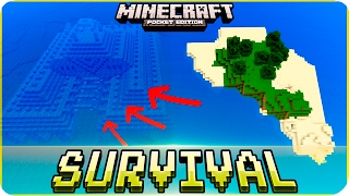 Download Minecraft PE Seeds - Survival Island with Ocean Monument & Village Seed - MCPE 1.2 / W10 / Xbox Video