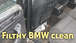 Download Cleaning a really dirty bmw car Video