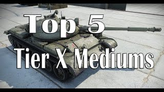 Download World of Tanks - Top 5 Tier X Mediums Video