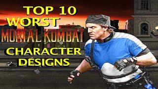 Download Top 10 WORST MORTAL KOMBAT Characters Designs Video
