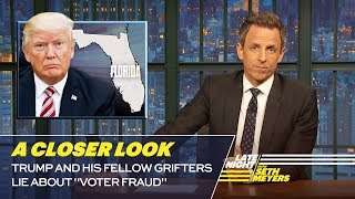 Download Trump and His Fellow Grifters Lie About ″Voter Fraud″: A Closer Look Video