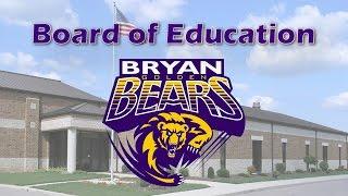 Download BCS - Bryan Board Of Education - 03/20/2017 Video