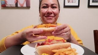 Download LA STREET HOT DOGS | MUKBANG (EATING SHOW) Video