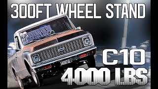 Download The RVA List | HUGE WHEEL STAND with a 4000 POUND C10 | SMALL BLOCK NITROUS Video
