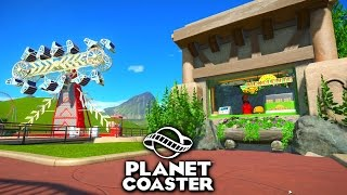 Download AMAZING CUSTOM BLUEPRINTS! - PLANET COASTER #5 Video
