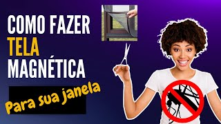 Download Tela mosquiteira magnética simples e fácil de fazer. Sai Mosquito ! Video