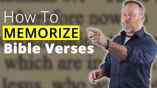 Download How to Memorize Bible Verses - Remember What You Read From The Bible Video