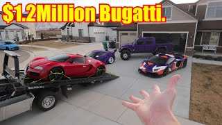 Download Bugatti Veyron DELIVERED to my House! Video