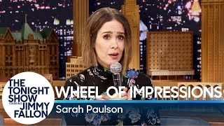 Download Wheel of Impressions with Sarah Paulson Video