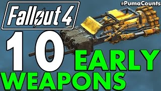 Download Top 10 Best Early Game Guns and Weapons in Fallout 4 #PumaCounts Video