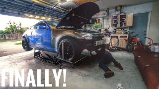 Download 350Z Suspension Setup and First Drive! Video