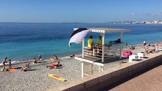 Download Best beaches in Nice, France Video