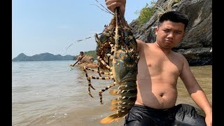 Download Primitive Technology with Survival Skills Wilderness Make Boats And Giant Lobster Traps At The Beach Video